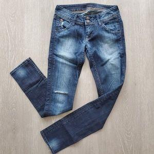 Hudson Collin Skinny Jeans Size 25